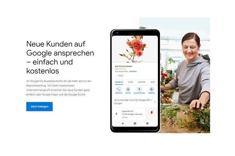Google My Business anmelden: Kostenloses Unternehmensprofil für mehr (lokalen) Erfolg